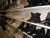 army surplus boots